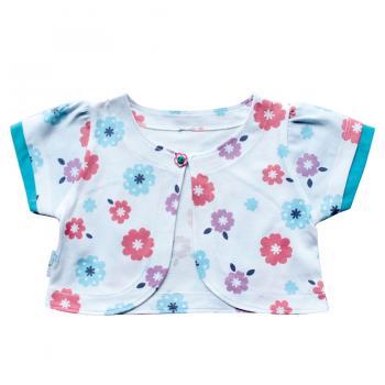 Áo khoác lửng bé gái GirlyOne AL0685 phối họa tiết